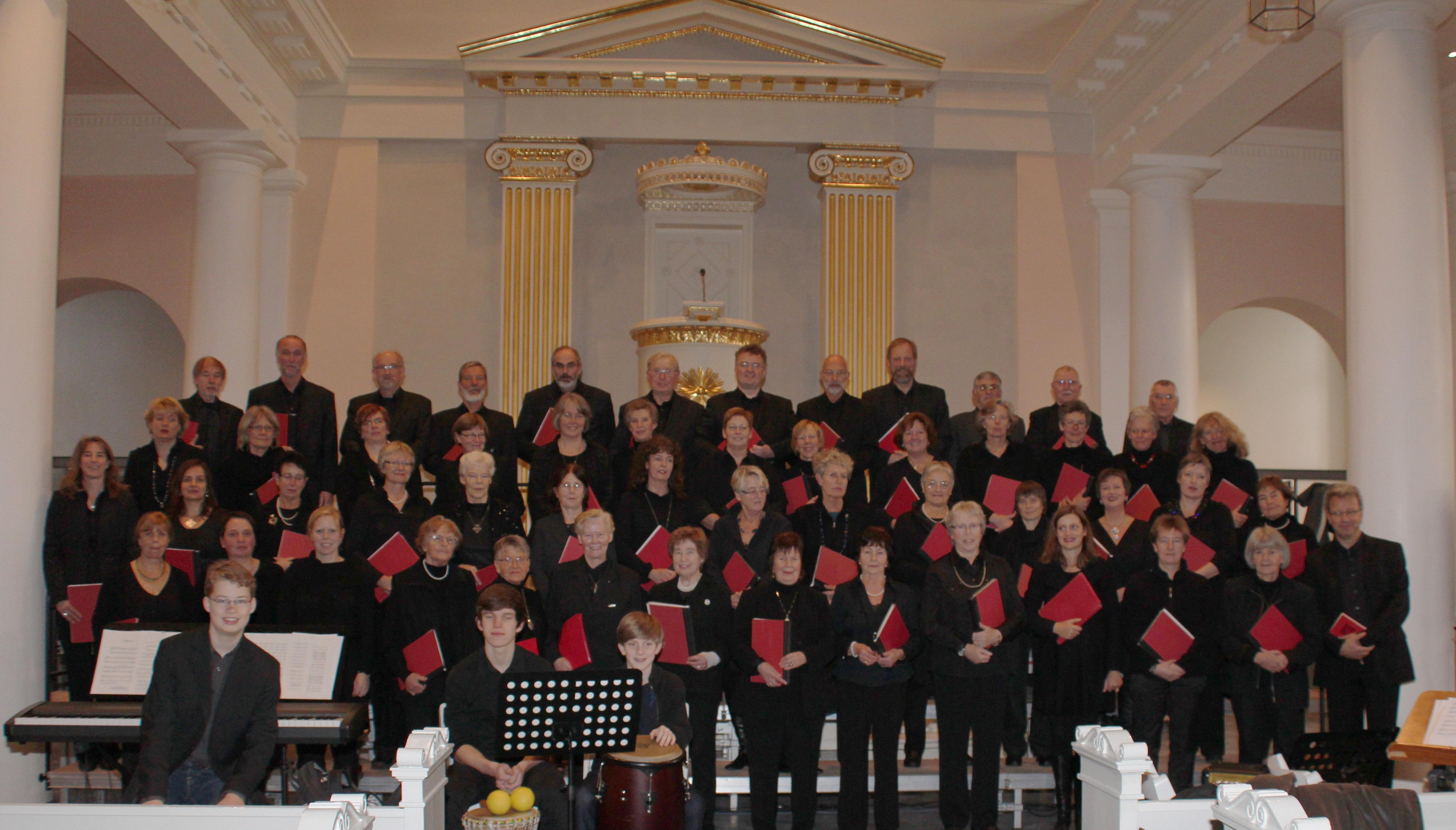 Gemischter Chor Advent 2011, St. Marien Husum